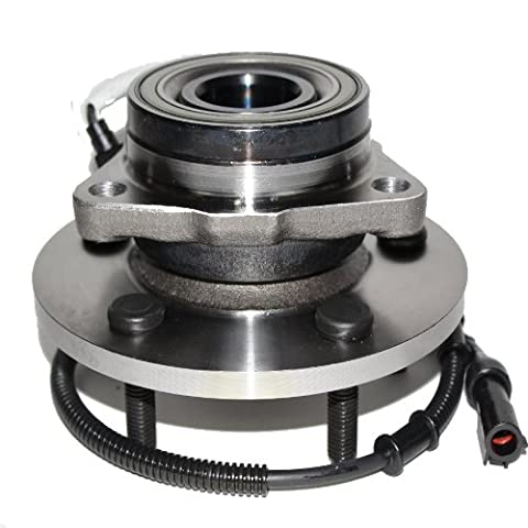 Brand New Front Wheel Hub and Bearing Assembly Ford Expedition, Lincoln Navigator 4x4 5 Lug (12mm bolt for 2000 model years) W/ ABS 515004 by Detroit