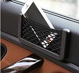 #5: EASY4BUY -Universal Car Net Holder Phone Holder Pocket Organizer String Bag Mobile Stand for - Nissan Terrano