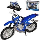 Yamaha Tt-r250 R 250 Blau Nr 119 Enduro Mit Sockel 1/18 Maisto Modellmotorrad Modell Motorrad