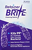 Retainer Brite Cleaning Tablets - 192 Tablet Pack - 6 Months Supply (with New formulation)