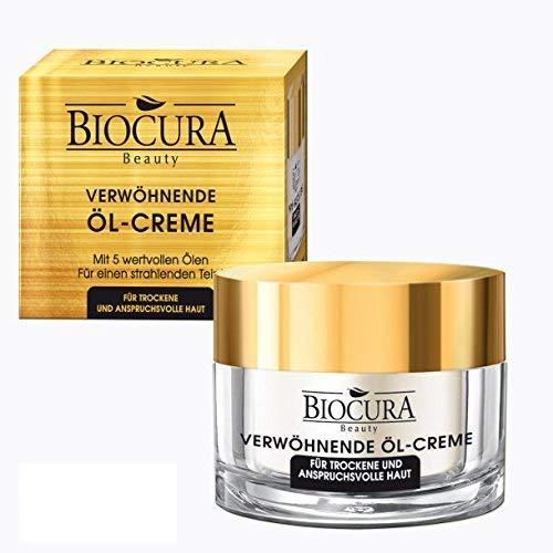 BIOCURA Beauty verwöhnende Öl Creme/Öl 50ml für Trockene/Reife Haut