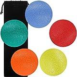 SourceTon Fidgets, Palla Antistress, Forma Rotonda per Mano, Dita e Presa, Ideale per Riabilitazione Fisica e rafforzamento della Presa, Confezione da 5