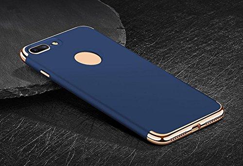 Hosaire Handy Schale Hülle für Apple iphone 5/5s Kreative 3 in 1 Phone Case Schützend Schutzhülle Apple Telefon Fall Schutzhülle Phone Shell Blau