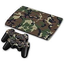 Zhaihaitf Skin Sticker Cover para Playstation 3 PS3 Super Slim CECH-4000 Multi-style