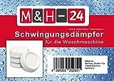 M&H-24 Schwingungsdämpfer / Vibrationsdämpfer / Antivibrationsmatte für Waschmaschine & Trockner, Waschmaschinenzubehör