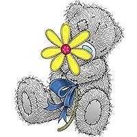 "24x 34cm 100% Full 5d diy Daimond pintura cutea ""Tatty Teddy, Historia"" diamond bordado completo cuadrado brillantes ""Cartoon Bear"""