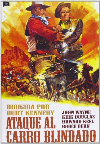 Ataque Al Carro Blindado (The War Wagon) Burt Kennedy.(Audio in Englisch und Spanisch) aus Spanien importiert.