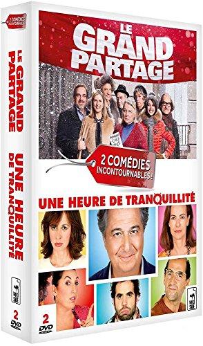 2 Comédies Incontournables : Le Grand Partage + Une Heure de Tranquillité - Coffret DVD