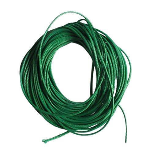 FITYLE Gewachste Nylon Schnur Draht Fden Wachskordel Wachsband - Grn