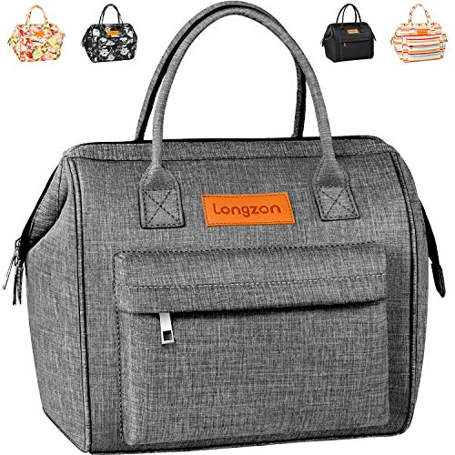 Sac Isotherme Repas, longzon15L Grande capacité Isothermal Lunch Box Isotherme Bag Boite Repas,Sac...
