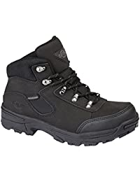 Ladies Walking/Hiking Boot, tormenta totalmente impermeable Lace Up Piel/Nailon superior