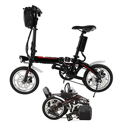 Befied 14 Zoll Elektrofahrrad E-Faltrad E-Bike Pedelec Klapprad 36V 250W Bafang Motor mit 36V Lithium-Ionen-Akku
