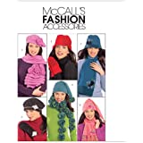 Misses' Hats, Scarves and Mittens, M5773, All Sizes