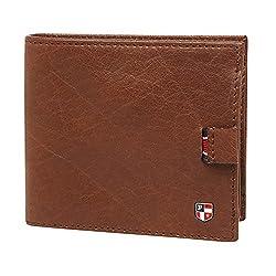 U.S. Polo Assn. Dark Brown Mens Wallet