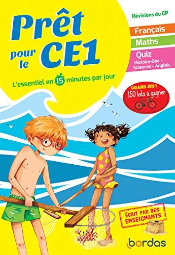 Prêt pour le CE1 - Cahier de vacances, révisions du CP