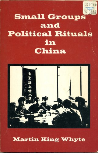 Small Groups and Political Rituals (Center for Chinese Studies, University of Michigan, Band 4) (Michigan Band)