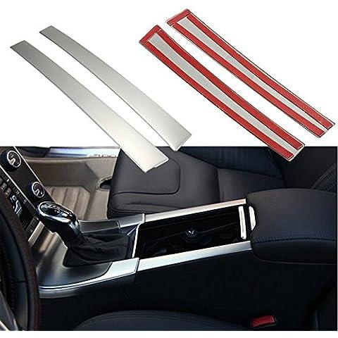 Yongse Chrome Bere Coppa titolari Centro pannello copri consolle misura per Volvo XC60 S60 V60