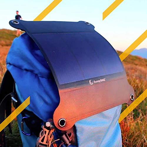 SunnyBAG Leaf+ – Premium Outdoor Solar Ladegerät - 5