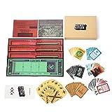 Cenblue Hitler segreto Gioco di carte Gioco di carte - Giochi di carte d'identità nascosti per feste in famiglia