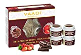 Vaadi Herbals Deep Moisturising Chocolate Spa Facial Kit with Strawberry Extract, 70g