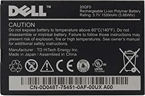 Dell 20QF0 Lithium Ion Battery for Dell Streak 5 - Original OEM - Non-Retail Packaging - Black
