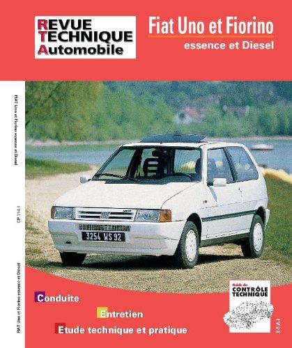 Revue Technique 714.1 fiat uno essence et diesel
