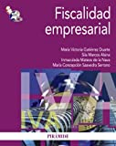 Fiscalidad empresarial (Economía Y Empresa)