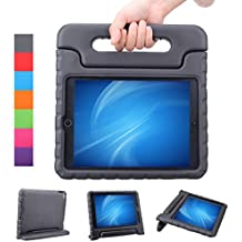 NEWSTYLE Apple iPad Air 2 / iPad 6 Funda para niños EVA antichoque ligera destinado a prueba de golpes Protección Funda Tapa - Negro