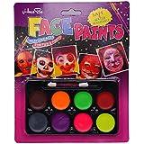 Party Butiko Neon Face Paint Set Of 8 Colour