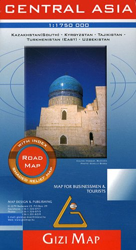 Central Asia Road Map 1 : 1 750 000