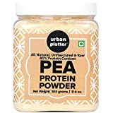 Best Protein For Muscles Builds - Urban Platter Pure Pea Protein Powder, 500g Jar[Vegan Review
