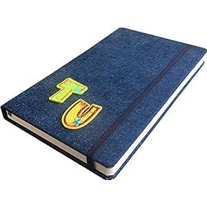 Jeans Notizbuch A5 personalisierbar mit