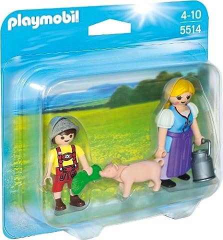 PLAYMOBIL 5514 - Duo Pack Bäuerin und