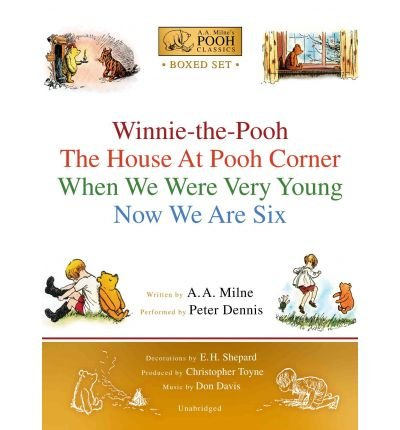 [A.A. MILNE'S POOH CLASSICS BOXED SET: WINNIE-THE-POOH; THE HOUSE AT POOH CORNER; WHEN WE WERE VERY YOUNG; NOW WE ARE SIX BY (AUTHOR)MILNE, A. A.]A.A. MILNE'S POOH CLASSICS BOXED SET: WINNIE-THE-POOH; THE HOUSE AT POOH CORNER; WHEN WE WERE VERY YOUNG; NOW WE ARE SIX[AUDIO]11-01-2007