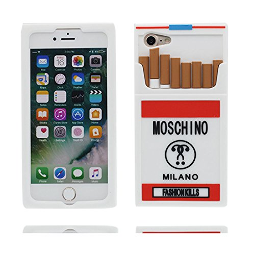 "Coque iPhone 7 Cover Cartoon 3D Boîte à cigarettes, TPU Flexible Durable Shock Dust Resistant iPhone 7 Étui iPhone 7 Case 4.7"" # 4"