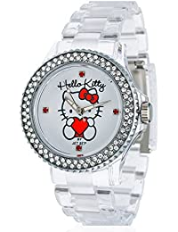 Hello Kitty Mädchen-Armbanduhr Kids JHK9904-17 Analog Quarz