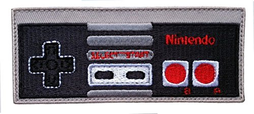 Preisvergleich Produktbild Klettverschluss Game Controller Nintendo Retro Classic Cap Backpack Applique Aufnäher Patch