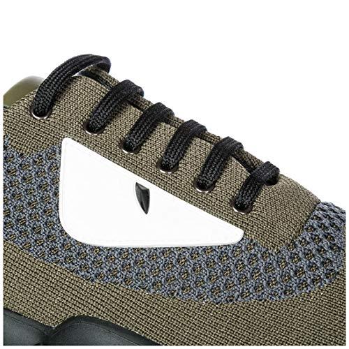 a9ce6cdcc9e896 Fendi Zapatos Zapatillas de Deporte Hombres en Nylon Verde EU 40  7E10964SVF101L
