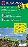 Bozen und Umgebung - Bolzano e dintorni: Wanderkarte mit Radtouren und Skitouren. GPS-genau. 1:25000: Wandelkaart 1:50 000 (KOMPASS-Wanderkarten, Band 154)