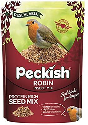 Peckish Robin Bird Seed and Insect Mix by Westlands Horticulture Ltd