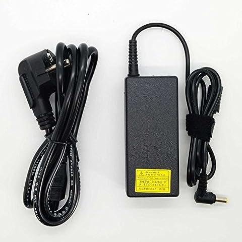90W Adaptateur chargeur neuf et compatible pour ordinateur portable ACER, Packard Bell, eMachines et Getaway de la description de 19V 4.74A ou moins avec embout 5,5mm x 1,7mm