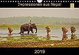 Impressionen aus Nepal (Wandkalender 2019 DIN A4 quer): Nepal entdecken - Farben eines besonderen Landes (Monatskalender, 14 Seiten ) (CALVENDO Orte)