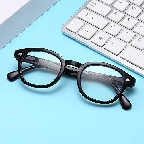 TYJYY Sonnenbrillen Retro Optische Brillengestell Frauen Männer Anti-Blaue Lesebrille...