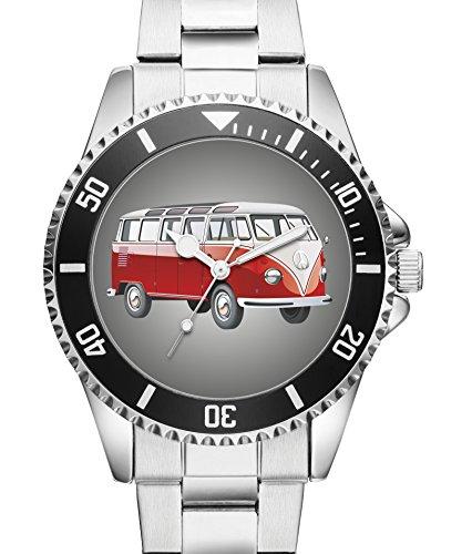 Retro Auto Oldtimer Geschenk Fan Artikel Zubehör Fanartikel Uhr 2518
