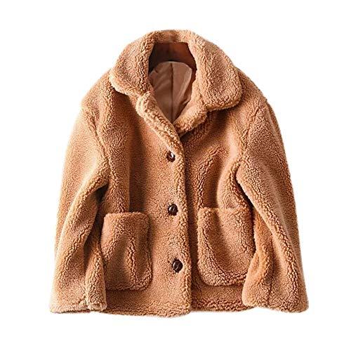 Tonsee  Manteau Femme, Nouvelle Mode Hiver Occasionnel Chaud Parka Veste Solide Vêtement D'extérieur Manteau Manteau Outercoat