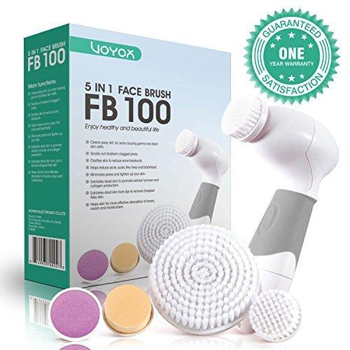 VOYOR 5 En 1 Cepillo Limpiador Facial Electrico Limpieza