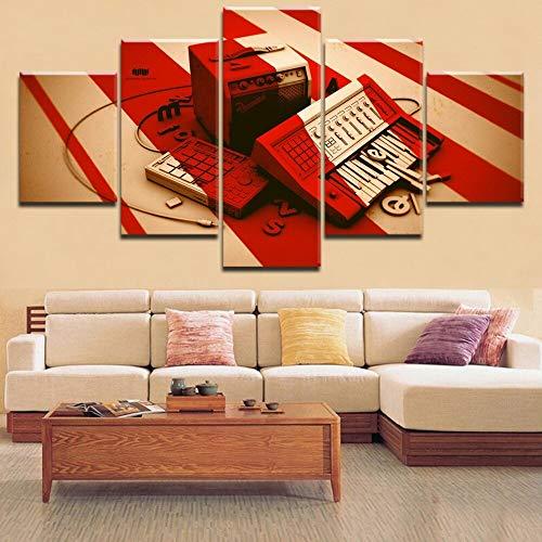 Las imágenes de alta calidad se imprimen en lienzo y los colores brillantes crean un aspecto natural y magistral y originalidad en un lienzo grueso y de alta calidad. La impresión del lienzo es una forma moderna, es muy atractiva, puede colgar en cua...