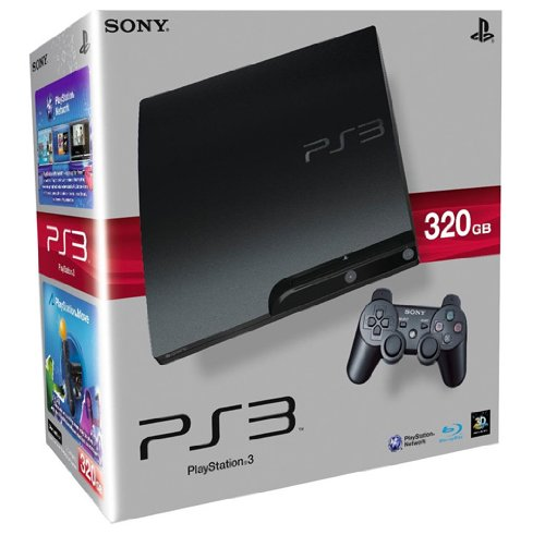 PlayStation 3 - Konsole Slim 320 GB (K-Model) inkl. Dual Shock 3 Wireless Controller (Ps3 Konsolen)