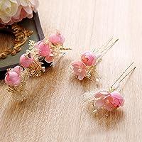 KHSKX-La Novia Tocado De Flores De La Boda El Traje Coreano De Pelo  Accesorios dfd4b7c6b078