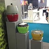 LotusGrill Holzkohlengrill Serie 340, Farbe Limone, verschiedene Farben zur Auswahl - 4